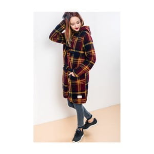 Kabát Lull Loungewear Checkered, veľ. XL