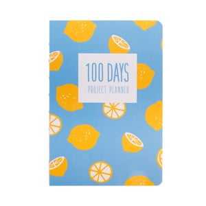 Plánovač Languo 100 Days Citron