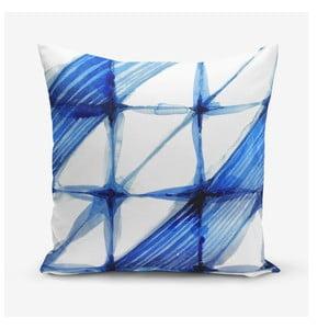 Obliečka na vankúš s prímesou bavlny Minimalist Cushion Covers Aquarel, 45×45 cm