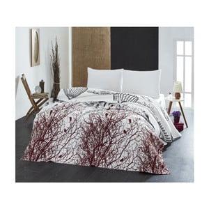 Ľahká prikrývka cez posteľ White Double, 200x235cm