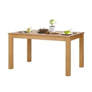 Jedálenský stôl z borovicového dreva Støraa Tommy, 140 x 90 cm
