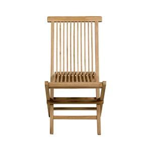 Záhradná stolička z teakového dreva Santiago Pons
