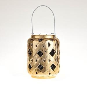 Keramická lucerna Gold Antique