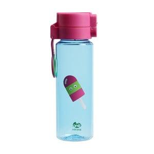 Modrá fľaša na vodu TINC Lolly