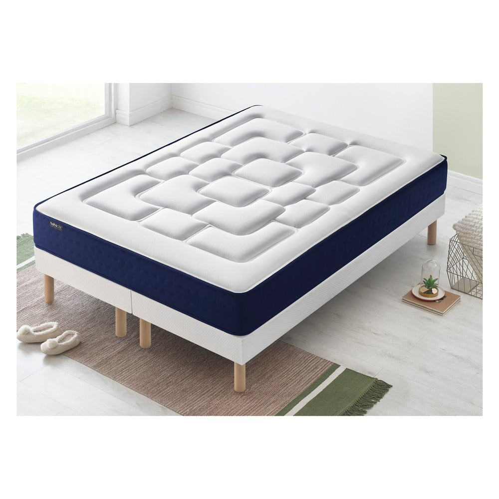 Dvojlôžková posteľ s matracom Bobochic Paris Velours, 80 x 200 cm + 80 x 200 cm