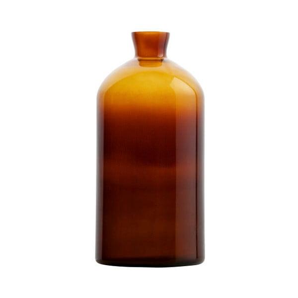 Tmavooranžová sklenená váza BePureHome Chemistry, výška40cm