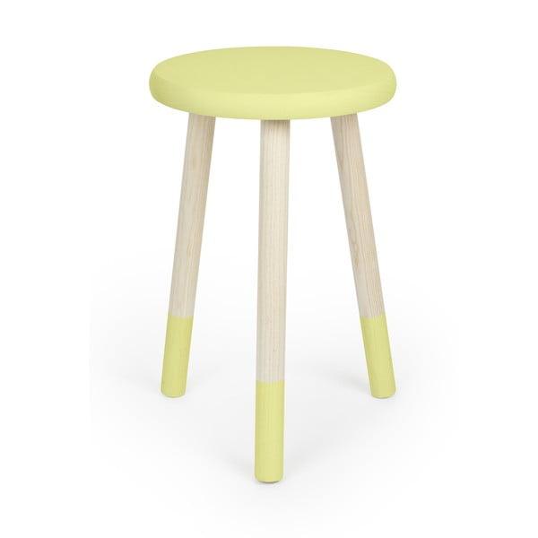 Stolička na sedenie Socks, žltá
