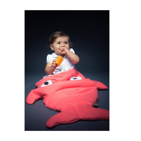 Detský vak na spanie Coral Polka Dot, vhodné i na teplé dni