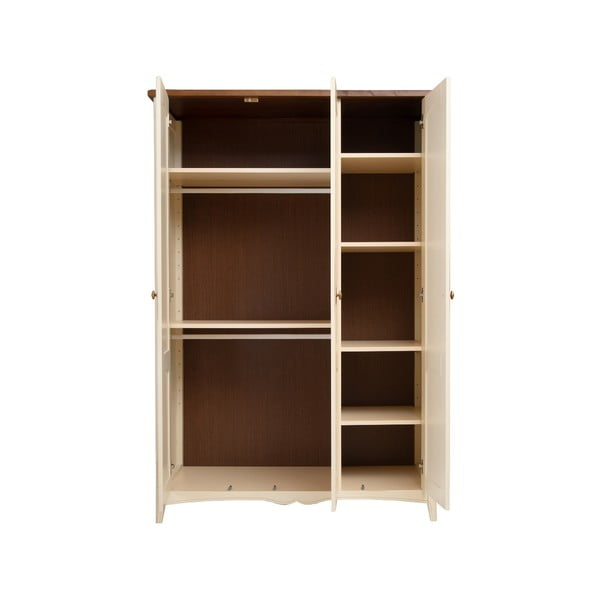 3-dverová šatníková skriňa KICOTI Classic