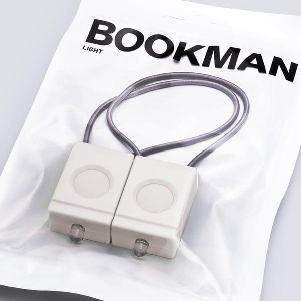 Biela blikačka Bookman