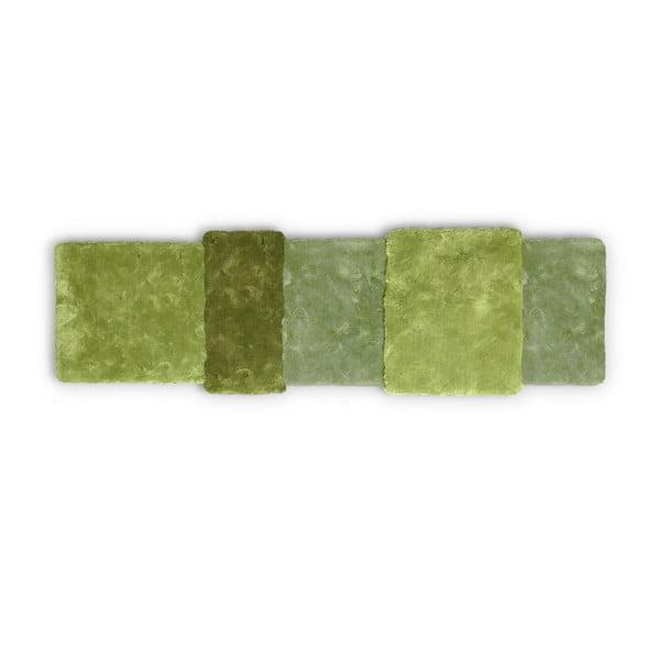 Zelený koberec EMKO Over Stripe