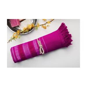 Hamam osuška Cotton Loincloth Violet One, 75x170 cm