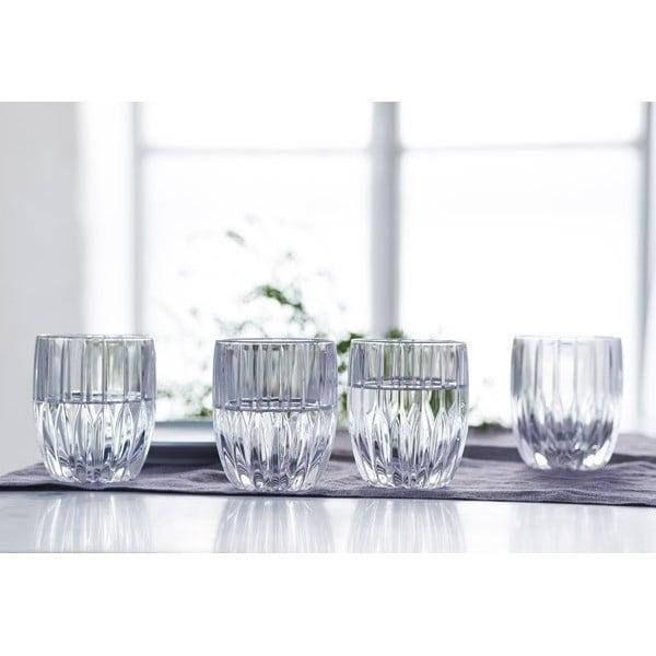 Sada 4 pohárov na whisky z krištáľového skla Nachtmann Prestige, 290 ml