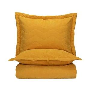 Set 2 obliečok na vankúše a plédu cez posteľ Bella Maison Bren, 240×260 cm