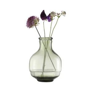 Zelená priehľadná váza A Simple Mess Vera