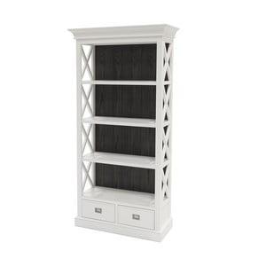 Biela stena Canett Skagen Cabinet, 2 zásuvky