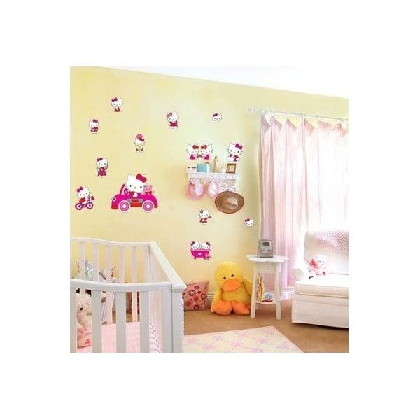 Dekoratívna samolepka Hello Kitty, 27x33 cm