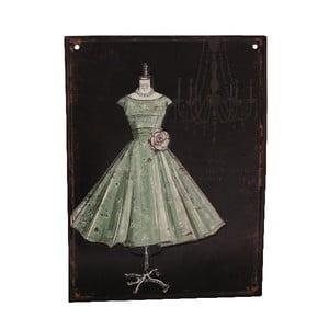 Plechová ceduľa Antic Ball Gown