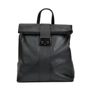 Čierna kožená kabelka Isabella Rhea Riccardo