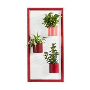 Magnetický obraz/podložka, červená, 23x50 cm