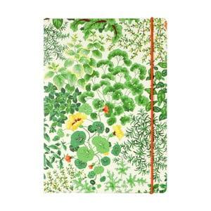 Zápisník Laura Ashley Living Wall by Portico Designs, 160stránok