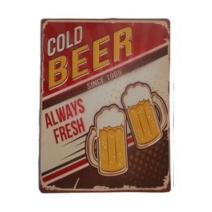 Ceduľa na stenu Novita Cold Beer