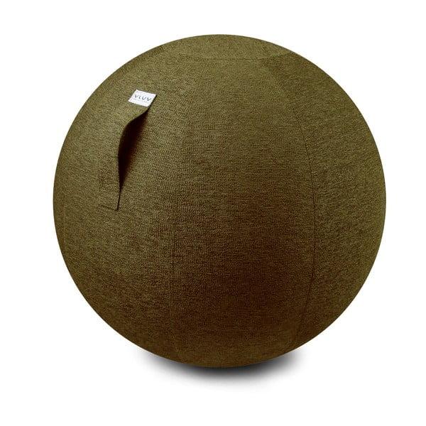 Lopta na sedenie VLUV 75 cm, olivový