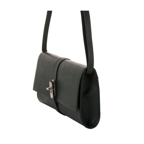 Zelená kabelka z pravej kože Andrea Cardone Calandra