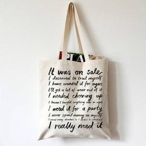 Plátená taška Karin Åkesson Design Love To Shop