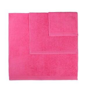 Sada 3 ružových uterákov Artex Delta
