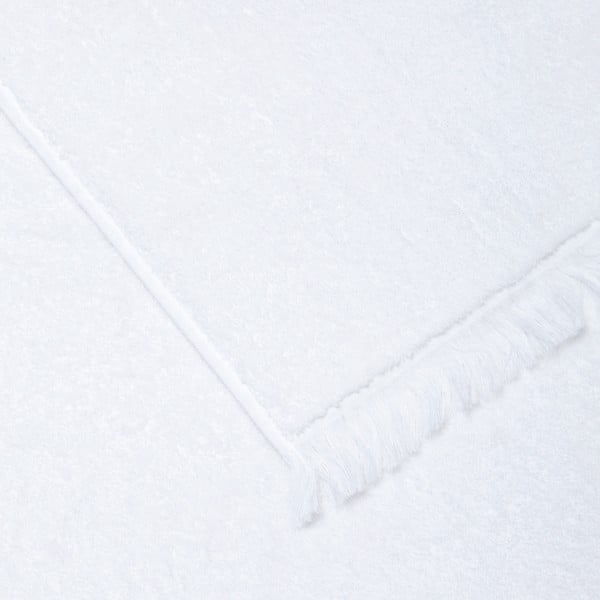 Sada 2 bielych bavlnených osušiek CasaDiBassi Bath, 70x140cm