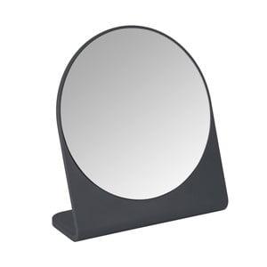Antracitovosivé kozmetické zrkadlo Marcon