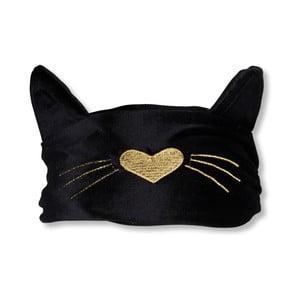 Čierna maska na spanie Tri-Coastal Design Cat