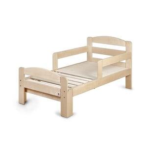 Drevená rastúca detská posteľ YappyKids Grow, 140-190×70 cm