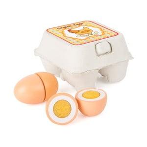 Drevené vajíčka na hranie Legler Eggs