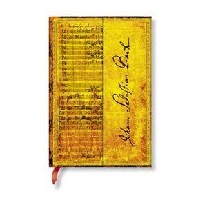 Zápisník s tvrdou väzbou Paperblanks Bach, 10 x 14 cm