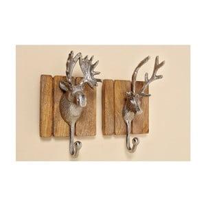 Sada 2 háčikov Hirsh Deer