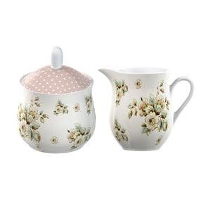 Cukornička s nádobkou na mlieko Katie Alice Cottage Flower
