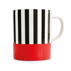 Hrnček Remember Black Stripes, 330 ml