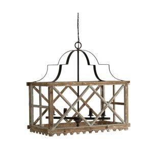 Závesné svietidlo z jedľového dreva VICAL HOME Rustico