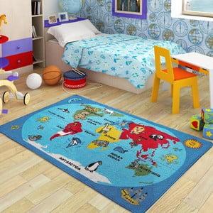 Detský koberec World, 100x150 cm