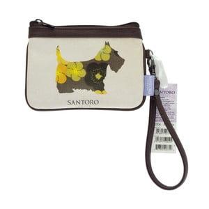 Obojstranná peňaženka na mince Santoro London Scottie Dogs