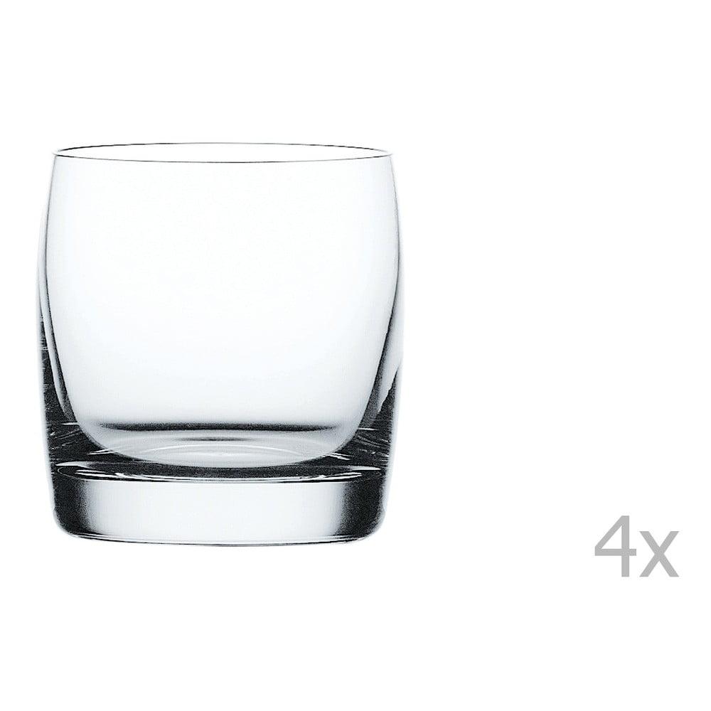 Sada 4 pohárov na whisky z krištáľového skla Nachtmann Vivendi Premium Whisky Tumbler Set, 315 ml