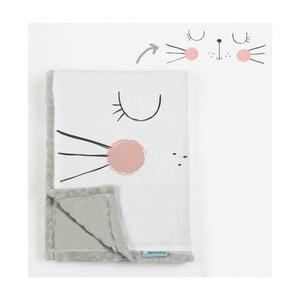 Detská deka Little Nice Things Cat, 170 x 130 cm