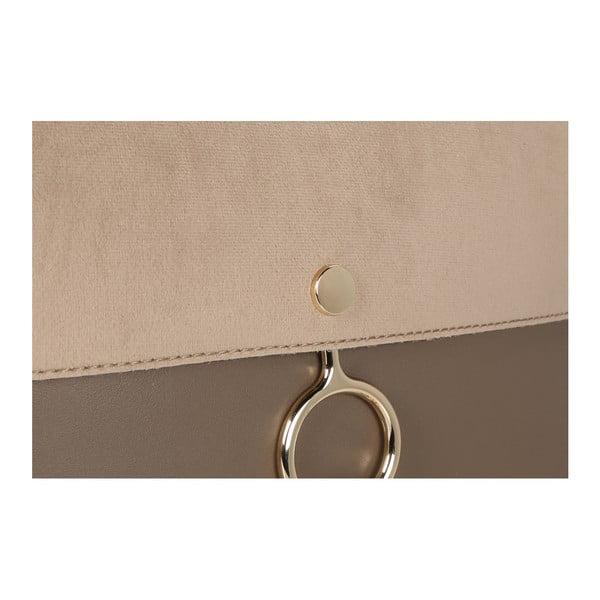 Sivohnedá kabelka z eko kože Beverly Hills Polo Club Sylvia