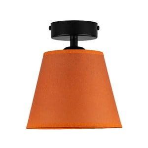 Oranžové stropné svietidlo Sotto Luce IRO Parchment, ⌀ 16 cm