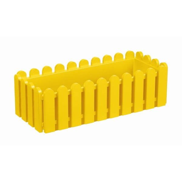 Kvetináč Window Yellow, 50x20x16 cm