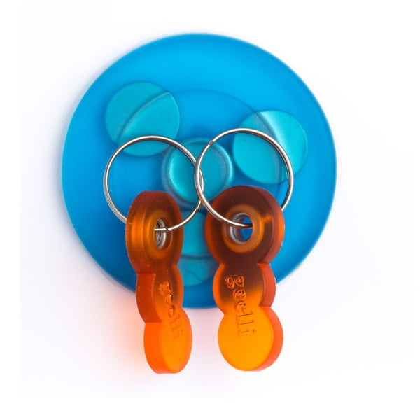 Samodržiaci vešiak na kľúče s magnetom Tiroasegno Blue