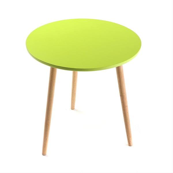 Odkladací stolík Auxiliary Green, 50 cm