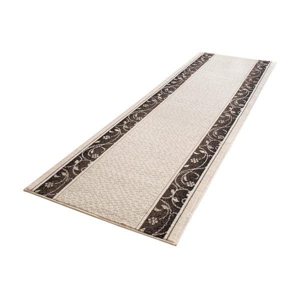 Koberec Basic Elegance, 80x400 cm, krémový